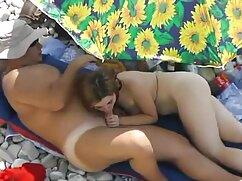 Trío sexo con madura casada suave-cama áspera